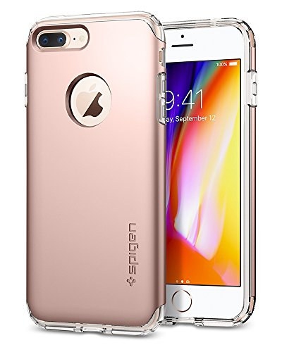 Spigen Hybrid Armor iPhone 7 Plus Case with Air Cushion Technology and Drop Protection for iPhone 7 Plus (2016) - Rose Gold