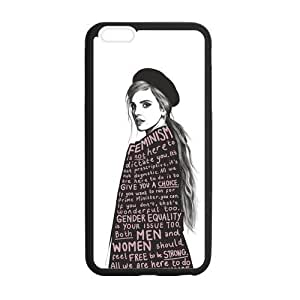 the Case Shop- Customized Emma Watson Quotes ActressTPU Rubber Case Cover Skin for iPhone 6 Plus 5.5 Inch , i6pxq-541