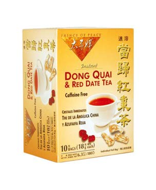 Dong Quai and Red Date Instant Tea 10 Bags