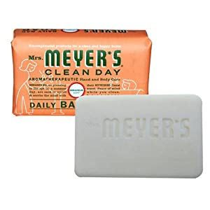 Mrs. Meyer's Clean Day Daily Bar Soap, Geranium, 5.3 oz