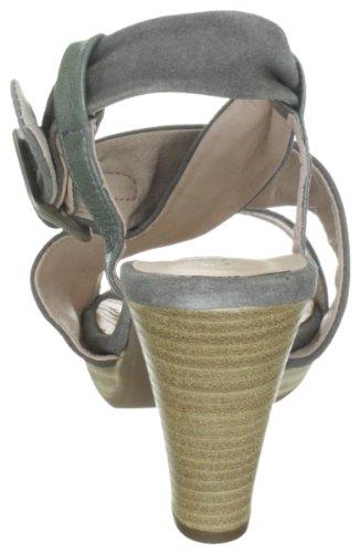 Comma Nancy 2072-432 - Sandalias de vestir de ante para mujer Gris