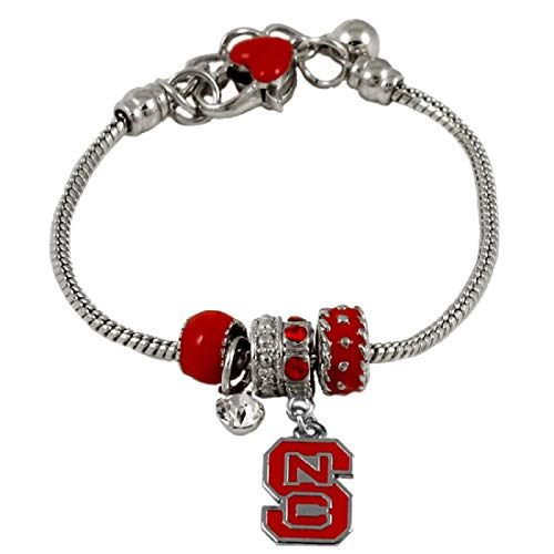 (SANDOL North Carolina State MVP Charm Bracelet)