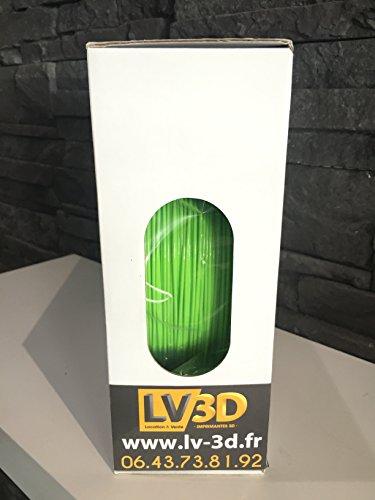 Filament LV3D PLA Vert Pomme 1,75mm (bobine 1kg) – Made in France