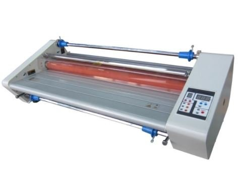 "Budget 2700 Plus Thermal (hot) 27"" School Office Roll Laminator inc. 4 Free Rolls of 1.5mil 25"" Laminating Film and Heavy Duty All Metal Construction"