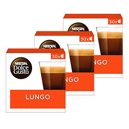 Nescafé Dolce Gusto capsules Lungo – voordeelverpakking – 90 koffiecups – geschikt voor 90 koppen koffie – Dolce Gusto…
