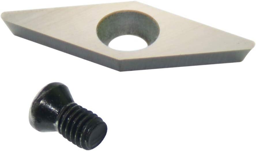 3pcs Ci4 28mm*10mm Diamond Carbide Cutter Insert fits Easy Wood Tools