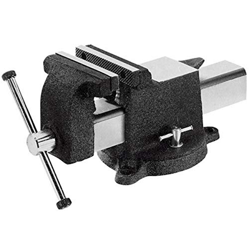 ProtectionPro 4 Jaw Cap Steel Utility Bench Vise-Swivel Base