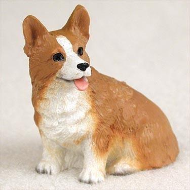 Welsh Corgi Pembroke Miniature Dog Figurine ()