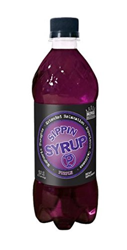 Sippin Syrup Purple Relaxation Beverage 20 Ounce - 12 Pack