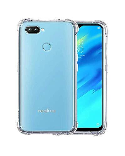 pretty nice e5716 37494 X wox™'' Back Case Cover for Oppo Realme 2 Pro | Realme 2 Pro Transparent  Corner Protection Cover