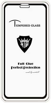 Shatterproof Color : Black Black WanShiHengTong Clear GGR 25 PCS Full Screen Full Glue Anti-Fingerprint Tempered Glass Film for iPhone XR