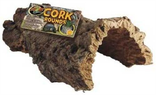 Zoo Med Natural Cork Bark Round Bulk Box, 15lbs by Zoo Med
