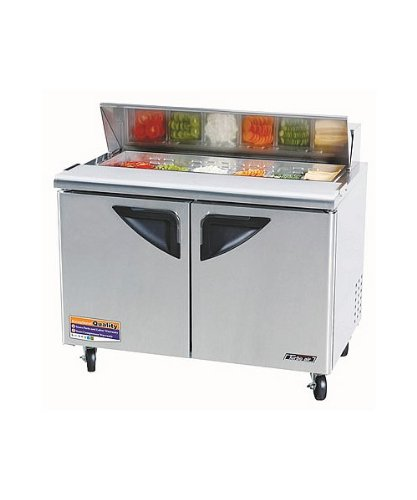Turbo Air TST-48SD, 48'' Wide Sandwich/Salad Prep Unit