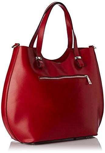 Chicca Red Bag Borse Women's Body 80046 Chicca Rosso Borse Cross rrHqB1w