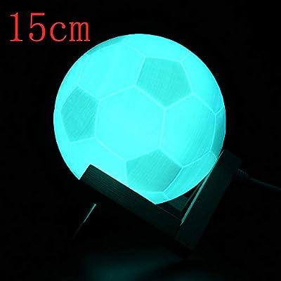 Lámpara de Mesa con luz LED 3D USB para futbolín: Amazon.es: Juguetes y juegos