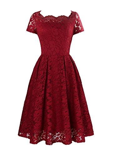Yanmei Women's 1950 Style Formal Evening Dress with