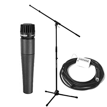 Shure SM57 Classic Mic Pac: Amazon ca: Musical Instruments, Stage