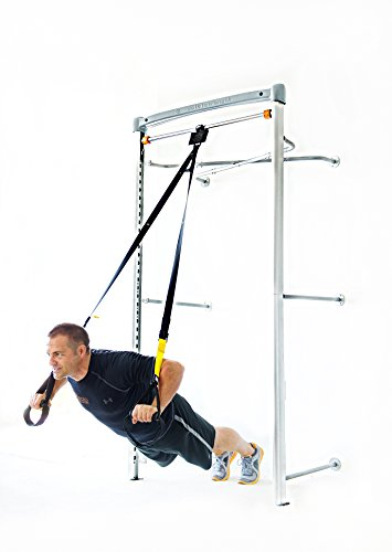 SoloStrength Ultimate (Wall Model): Total Body Home Gym Personal Training Station Strength Exercise Bar (Bundle 1)