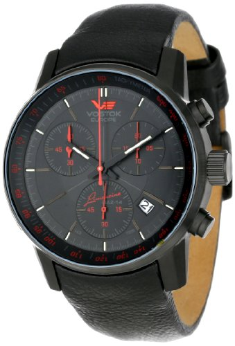 Vostok-Europe Men's 6S30/5654176 Tritium Tube Illumination Watch