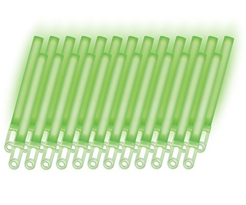RiverRoots Light Sticks, Green, 7.5In, 12 Hour Duration (25 Pcs)