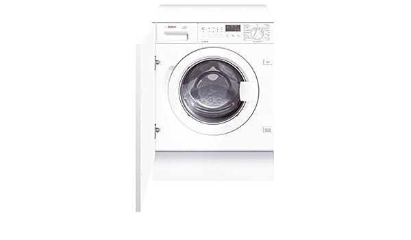 Bosch WIS24460EE - Lavadora (Integrado, Carga frontal, Blanco, 7 ...