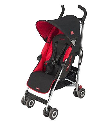 Maclaren Quest Stroller, Scarlet Black Discontinued by Manufacturer