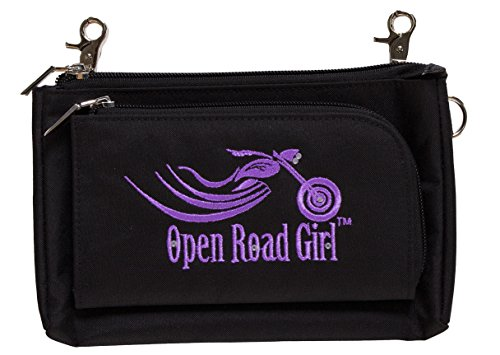 Purple Can Womens Open be Bike Crossbody with Purse Clips Worn Girl Road 3 Ways Hip Bag ww46Sq
