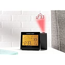 Sharper Image Weather Projection Clock