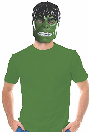 Rubie's Costume Co Unisex-Adults Ben Cooper Hulk Mask, Multi, One Size -