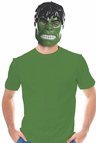 Rubie's Unisex-Adults Ben Cooper Hulk Mask, Multi, One (Hulk Replica Costume)