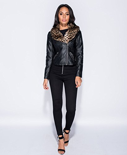 amp;ayat Fashions Giacca Black Donna Momo Biker PdqwnC