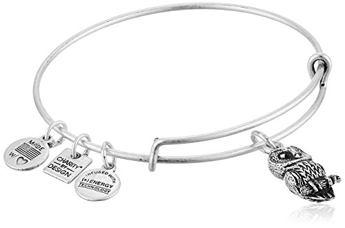 (Alex and Ani Charity By Design Ode To The Owl Rafaelian Silver Bangle)
