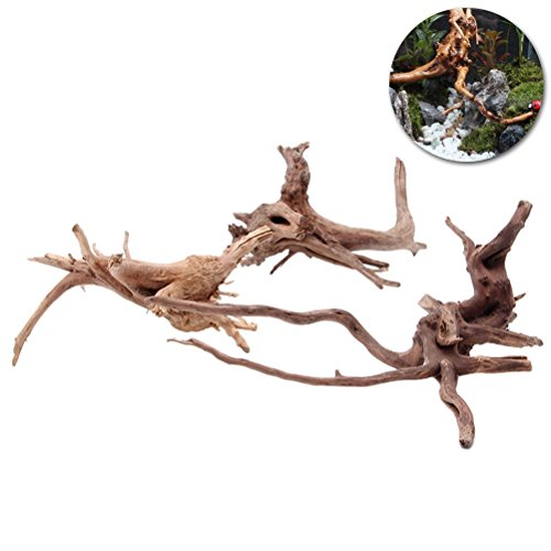 UEETEK Aquarium Decorations Natural Branch Driftwood for Fish Tank Decoration