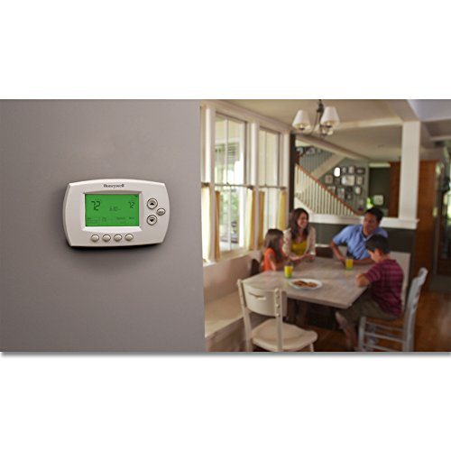Honeywell Home - 7-Day Programmable Thermostat with Wi-Fi Capability - White