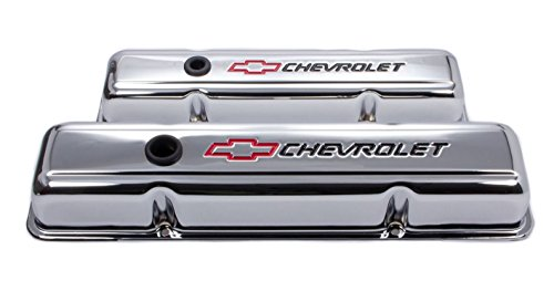 Proform 141-899 SBC Chrome Valve Cover with Baffle ()