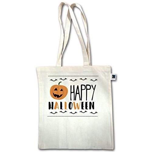Halloween - Happy Halloween - Unisize - Natural - Xt600 - Manico Lungo In Juta