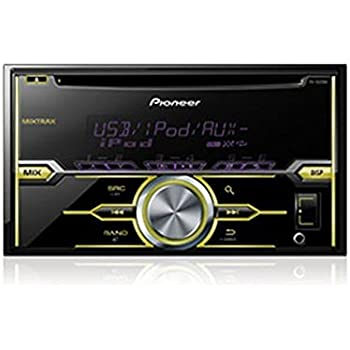 Pioneer FHX520UI Double DIN In-Dash CD/AM/FM Receiver