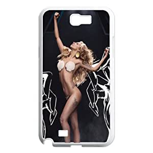 Custom High Quality WUCHAOGUI Phone case Lady Gaga Protective Case For Samsung Galaxy Note 2 Case - Case-2