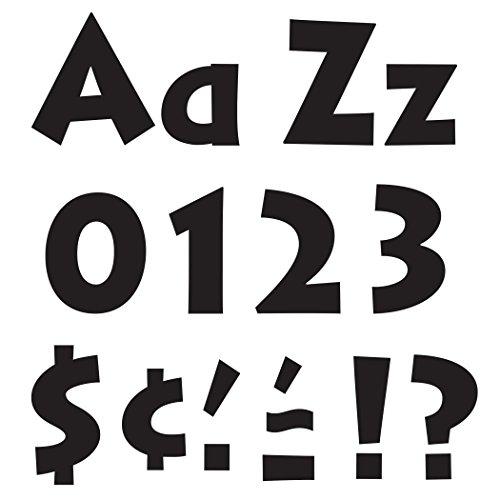 """Black 4"""" Venture Combo Ready Letters - TREND enterprises, Inc. T-79290"""
