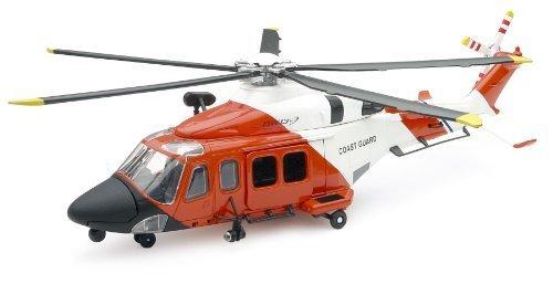 Diecast Model Us Coast Guard - AgustaWestland AW139 (US Coastguard) Diecast Model Aircraft by New-Ray Toys
