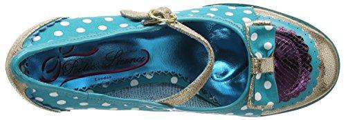 Dichterlijke Vrijheid Door Onregelmatige Keuze Damen Laatste Fluitsignaal Mary Jane Halbschuhe Blauw (blauw (blauwgroen Multi))