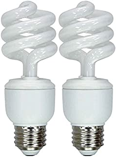 GE Lighting 42105 Energy Smart CFL 13-watt 825-Lumen T3 Spiral Light Bulb