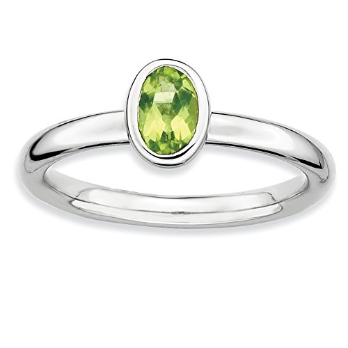 0.5 Ct Peridot Ring - 1