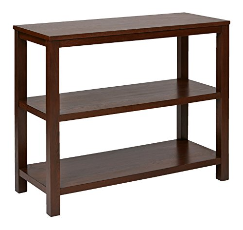 Ave Six Merge Foyer Table, Mahogany