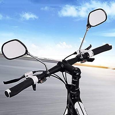 Speed - Juego de 2 espejos retrovisores ajustables para manillar ...