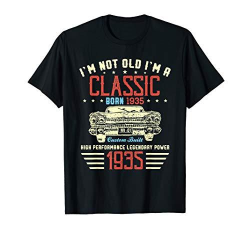 I'm Not Old I'm Classic Car 85th Birthday T Shirt