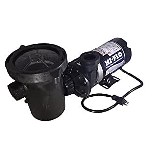 2 HP 3450 RPM, 115 volts Above Ground Pool Pump with Debris Basket & Power Cord