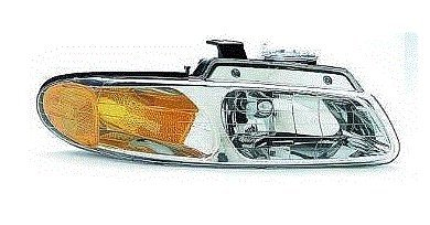 Fits 96 97 98 99 00 Dodge Caravan Chrysler Town & Country NEW PASSENGER Headlight Single Headlamp bulb Plymouth Voyager