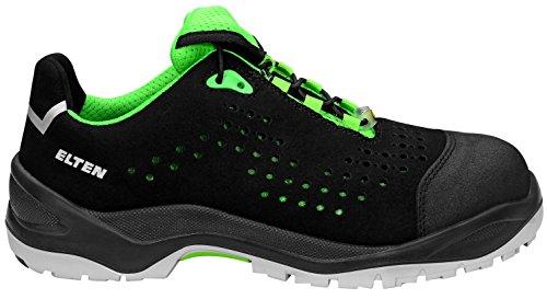 43 Taille sécurité Chaussures 722551 Elten S1P de 43 Low ESD Green Impulse Tgpcv5wq