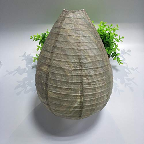 Little Story  Simulated wasp nest, 2Pcs Wasp Deterrent Yellowjackets Bee Hornets Fake Wasp Nest Simulated Deterrent (2 PC)